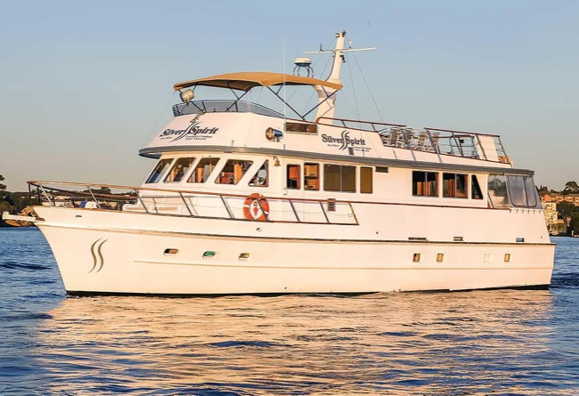 SILVER SPIRIT 60' Flybridge Motor Corporate Charters