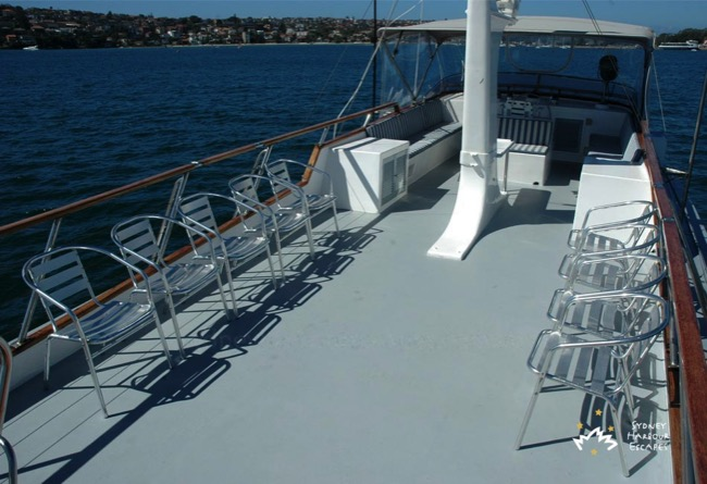 Silver Spirit top deck