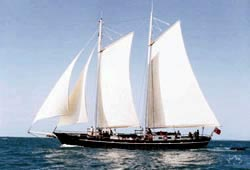 SOUTH PASSAGE   100' Classic Schooner Private Charter
