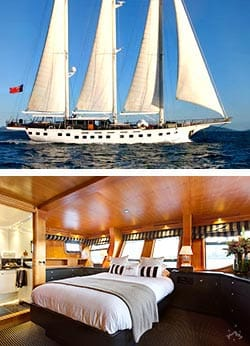SOUTHERN CLOUD  130' Luxury Yacht Overnight Charter
