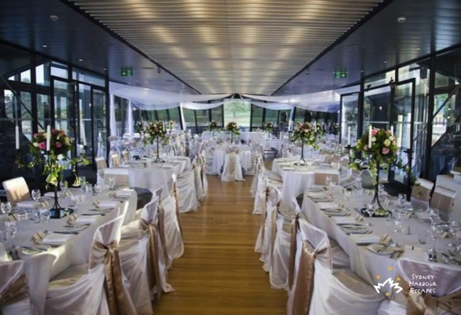 Starship Sydney table setting 4