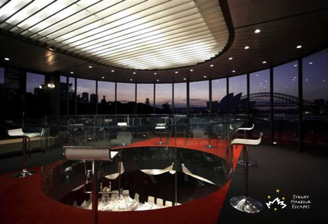 Starship Sydney sunset interior