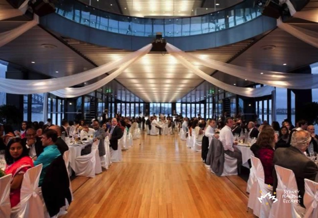 Starship Sydney wedding interior guests