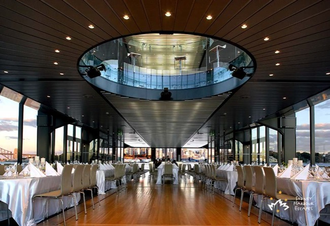 Starship Cruise Dining Hall Full View