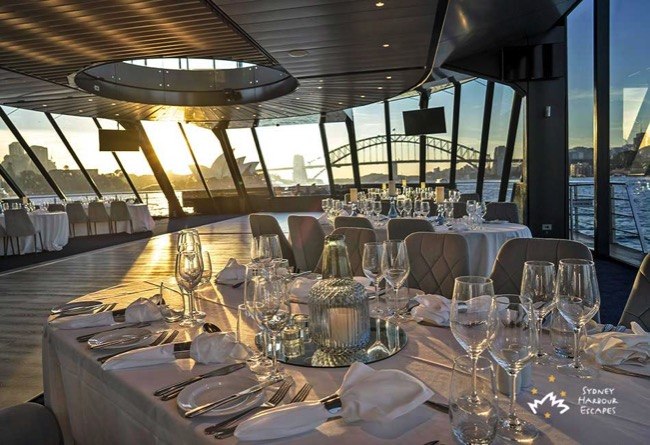 Sydney Harbour Dining View