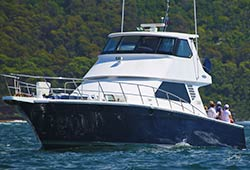 STATE OF THE ART 65' Luxury Motor Launch Australia Day Cruise