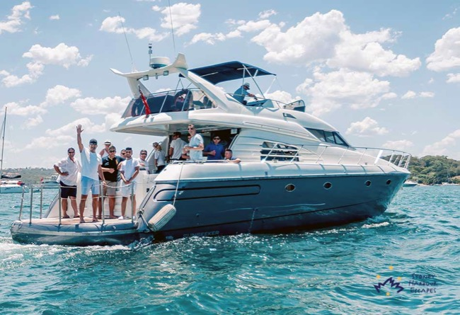 SUNSEEKER  62' Predator Sunseeker Luxury Cruiser Australia Day Charter
