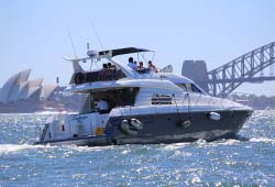 Sunseeker Cruising Near Opera House