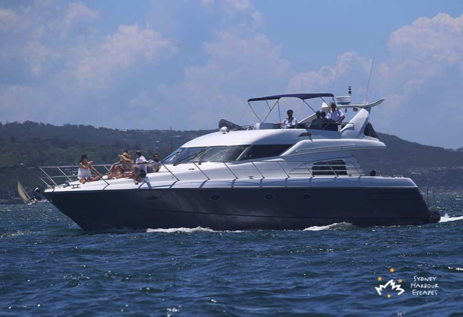 Sunseeker Cruising in Sydney