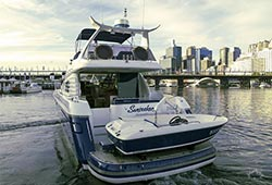 Sunseeker Moored Darling Harbour
