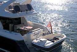 Sunseeker with Tender
