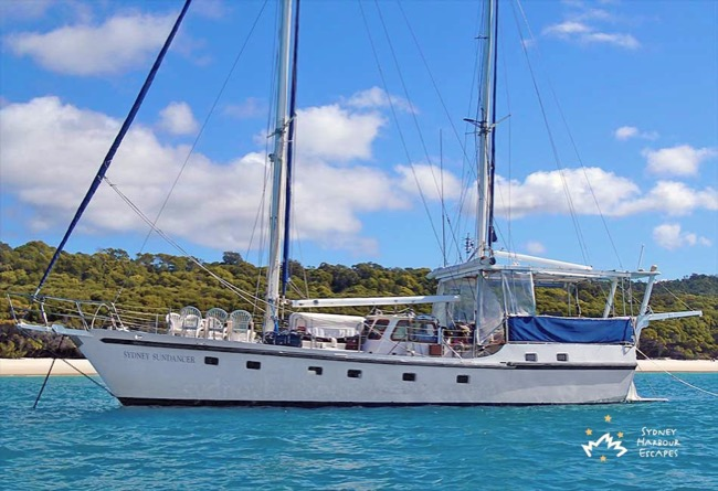 SYDNEY SUNDANCER  60' Motor Sailing Ketch Australia Day Cruise