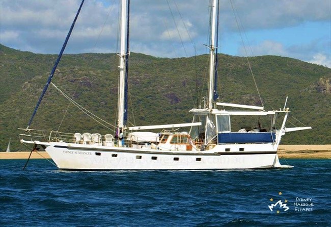 Sydney Sundancer Cruising in Whitsundays