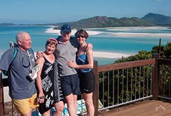 Sydney Sundancer Family Enjoying in Whitsundays