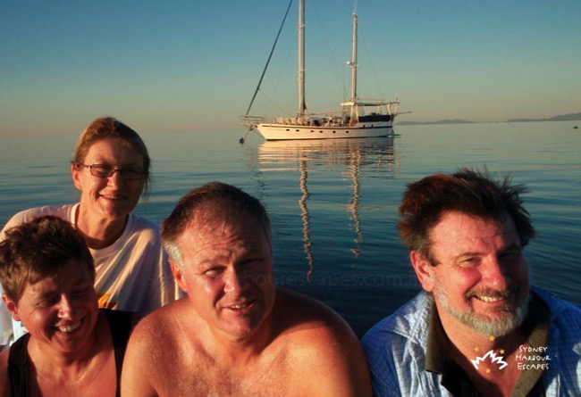Sydney Sundancer Family in Whitsundays