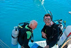 Sydney Sundancer Ready to Dive Whitsundays