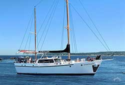 SYDNEYSIDER 60' Sailing Ketch & Motor Yacht Private Charter