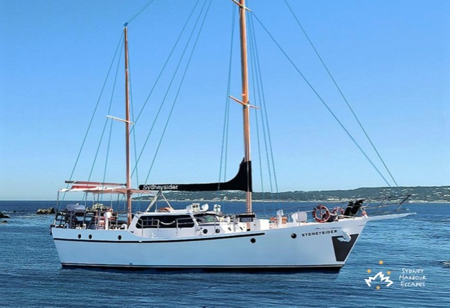 SYDNEYSIDER 60' Sailing Ketch & Motor Yacht Corporate Charter