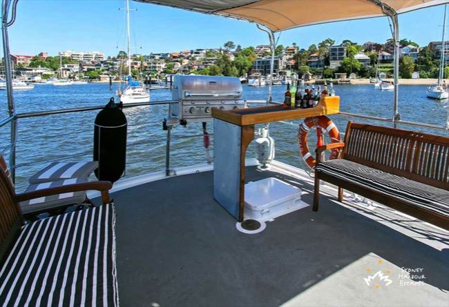 Sydneysider Deck with BBQ