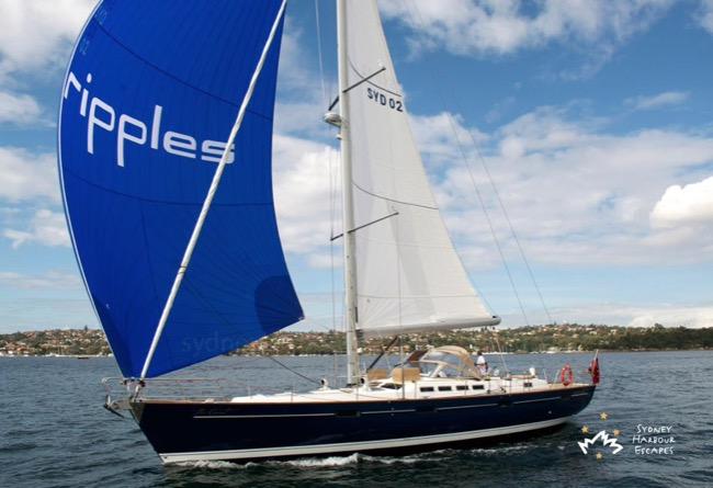 THE COUNT 57' Beneteau Australia Day Yacht Charter