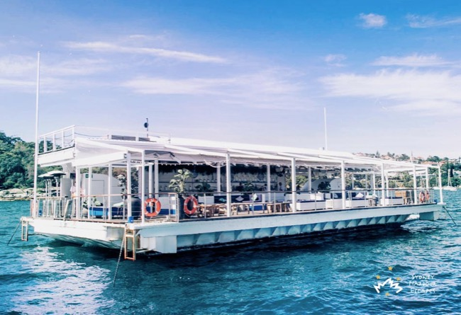 THE ISLAND  Exclusive Floating Pontoon Australia Day Venue