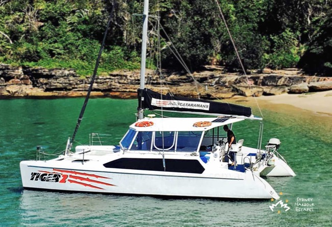 TIGER 2 34' Sailing Catamaran Australia Day Charter