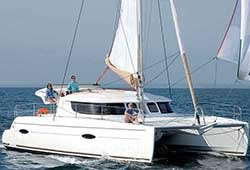 TOO UP 41' Lipari Luxury Sailing Catamaran Wedding Charter