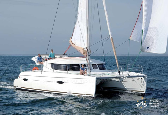 TOO UP 41' Lipari Luxury Catamaran Australia Day Charter