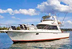 YACKATOON  50' Cruiser New Year's Eve Boat Charter