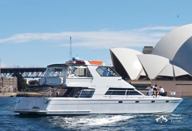 YARRANABBE 55' Twin hulled cruiser Australia Day charter