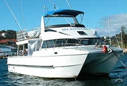ZANE GREY 46' Twin Deck Offshore Fishing Catamaran